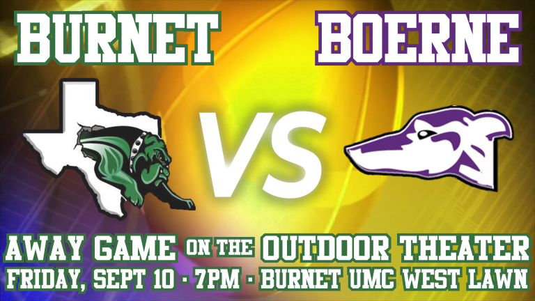 Read more about the article Burnet vs Boerne- Away Game on the Outdoor Theater