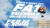 Free Drive-In Movie- Journey Upward With Us For Lent (New Date)